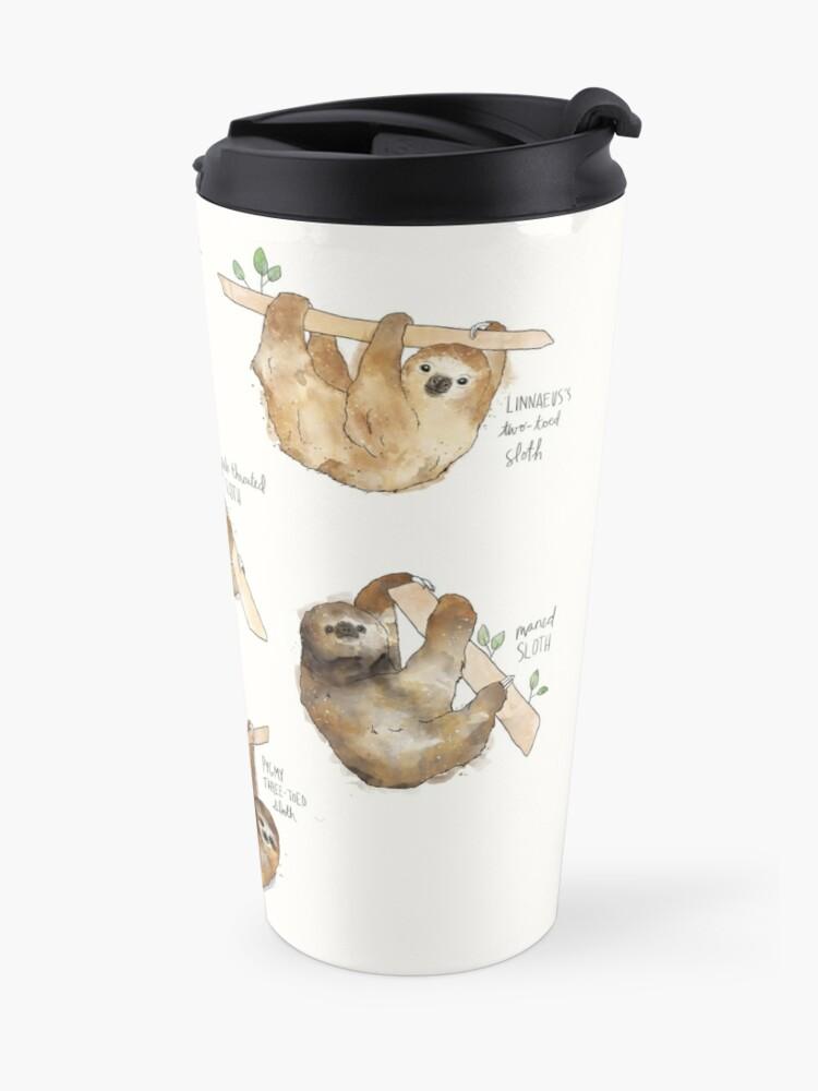 Alternate view of Sloths Travel Mug