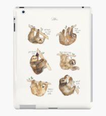 Sloths iPad Case/Skin