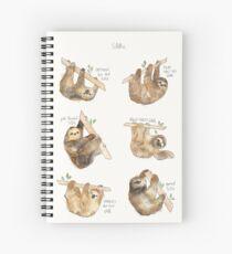 Sloths Spiral Notebook