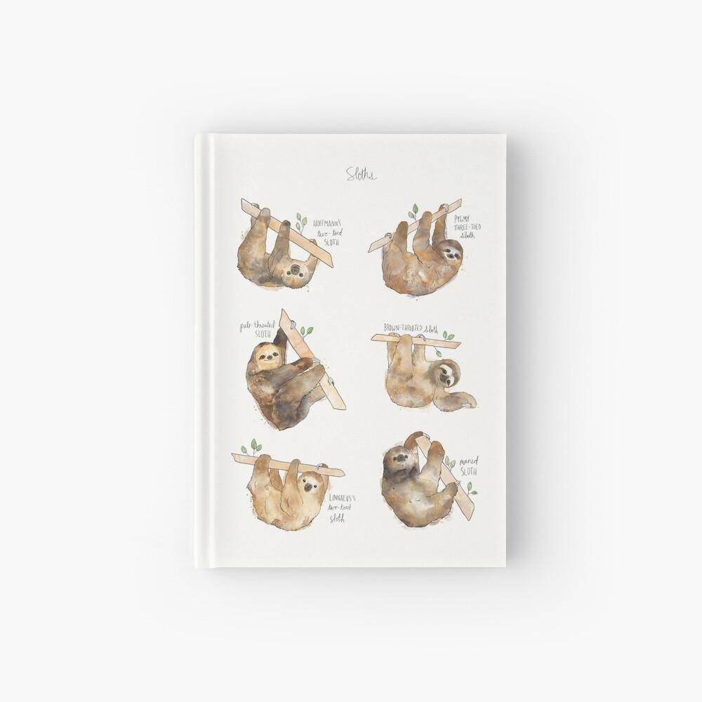 Sloths Hardcover Journal