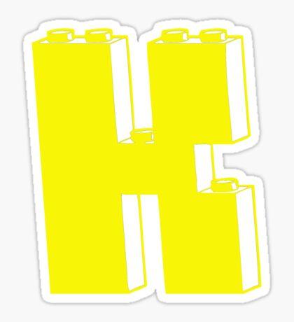 THE LETTER K  Sticker