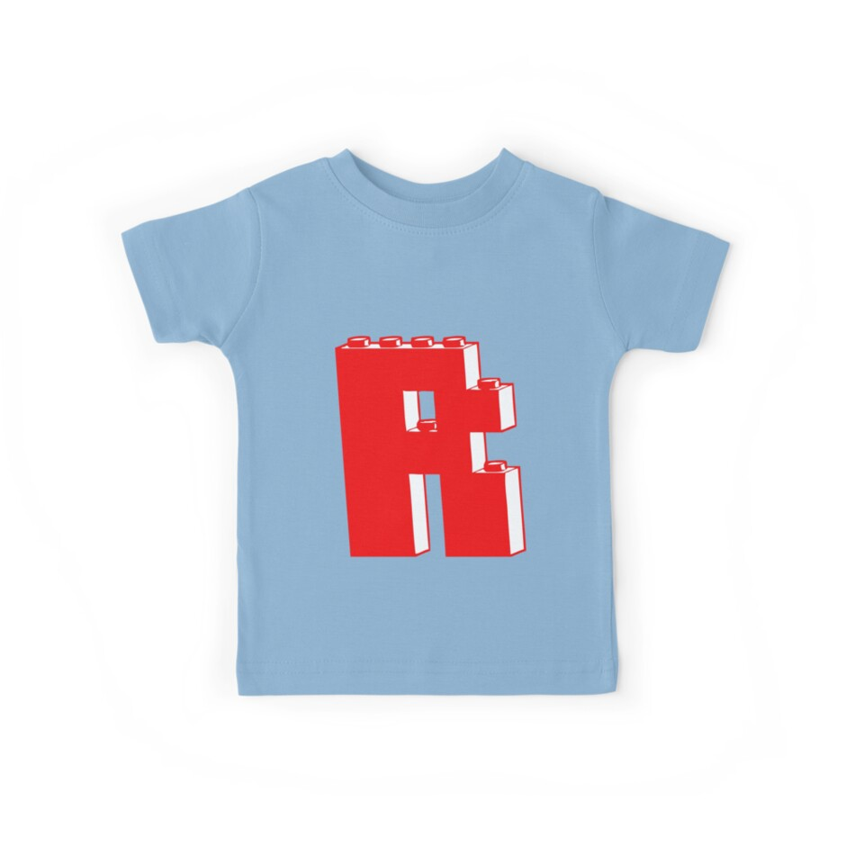 THE LETTER R by Customize My Minifig