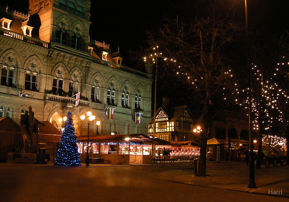 Chester by night by Harri