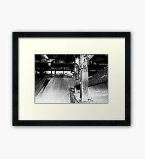 Stilts Framed Print