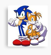 Sonic The Hedgehog Canvas Print