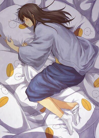 Gintama - Pillow by banafria