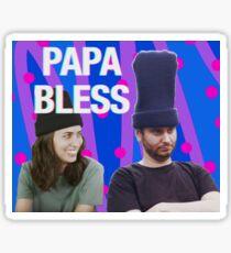 h3h3 Papa Bless Sticker