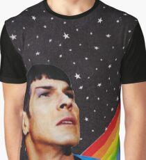 Rainbow Spock Graphic T-Shirt