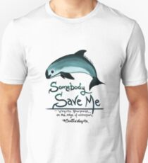 Save Me - Vaquita Porpoise, art © 2015 T-Shirt