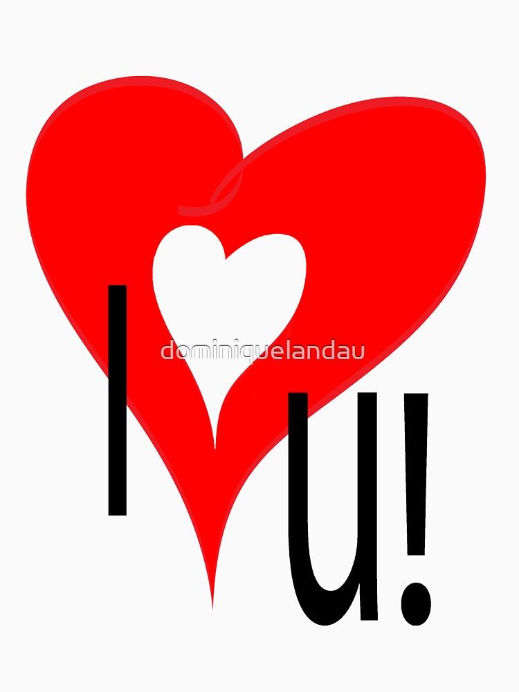 I love you by dominiquelandau