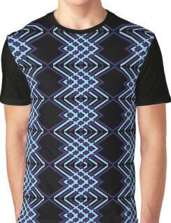 Blue arrows pattern Graphic T-Shirt