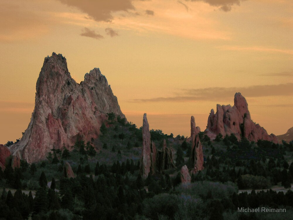 Nature's Cathedral by Michael Reimann