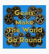 Gears Photographic Print