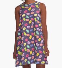 macaroon pattern A-Line Dress