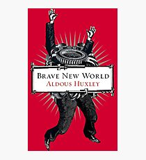 Brave New World - Aldous Huxley Cover Photographic Print