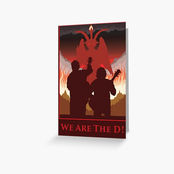 We Are The D! Greeting Card