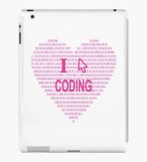 I HEART Coding iPad Case/Skin