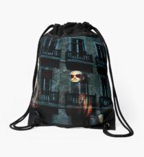Shop reflection Drawstring Bag