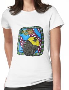 American Carrion Beetle Necrophila americana Womens Fitted T-Shirt