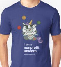 I AM A NONPROFIT UNICORN (dark)! T-Shirt