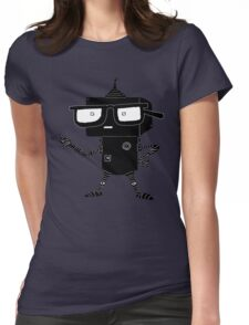 GEEKbot Womens Fitted T-Shirt