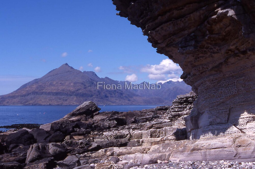 Cuillin from Elgol by Fiona MacNab