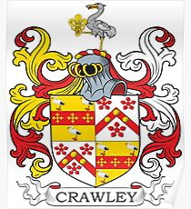 Crawley Coat of Arms Poster