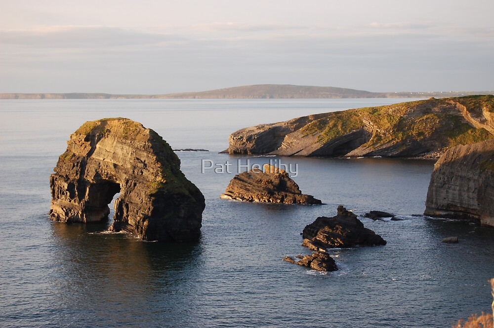 Ballybunnion Coast by Pat Herlihy