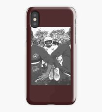 """Unique and rare 1980 Race Trucks France  22 (n&b) (h) """" fawn paint Picasso ! Olao-Olavia by Okaio Créations iPhone Case/Skin"""