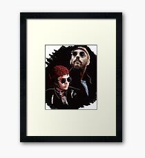Leon and Mathilda Framed Print
