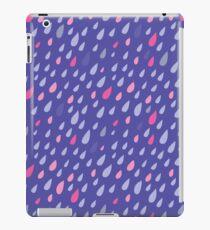 Blue Funny Drops iPad Case/Skin