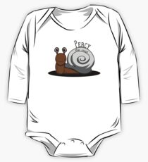 Percy the Snail One Piece - Long Sleeve