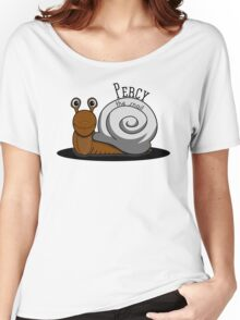 Percy the Snail Women's Relaxed Fit T-Shirt