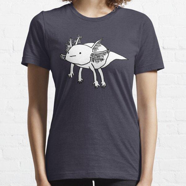 Cute happy floaty axolotl Essential T-Shirt
