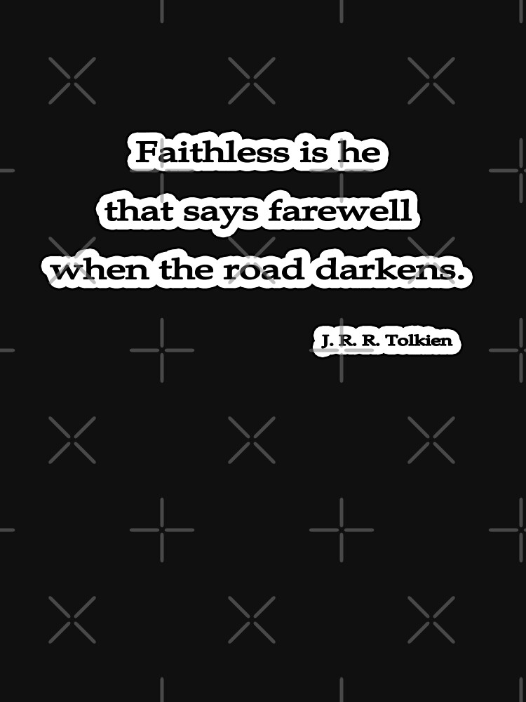 Faithless is he, J. R. R. Tolkien by insanevirtue