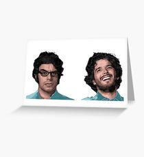 Conchords Greeting Card