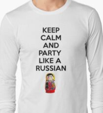 Keep Calm And Party Like A Russian T-Shirt