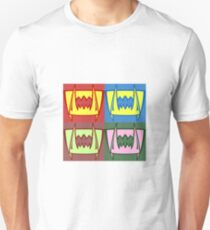 Multi Colored Fangs Unisex T-Shirt