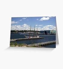 USS Eagle Greeting Card