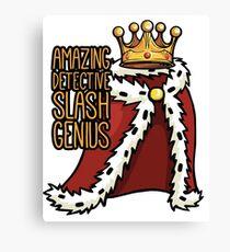 B99 Amazing Detective Slash Genius Canvas Print