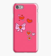Valentine Hearts and Bows iPhone Case/Skin