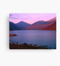 Sunset at Wastwater Canvas Print