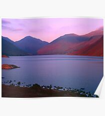 Sunset at Wastwater Poster