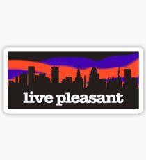 Land of Pleasant Living Sky Sticker