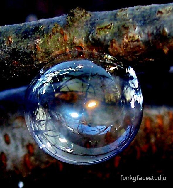 Bubble Ornament by funkyfacestudio