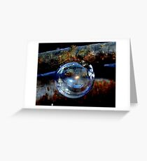 Bubble Ornament Greeting Card