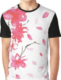 spring. flowers. wind. Graphic T-Shirt