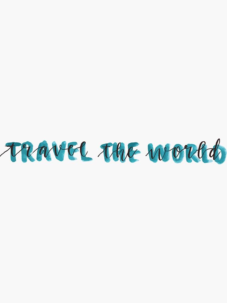 viajar por el mundo azul de cgidesign