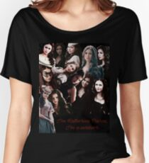 Katherine pierce  Women's Relaxed Fit T-Shirt