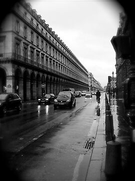 Paris in the Rain by suzanna